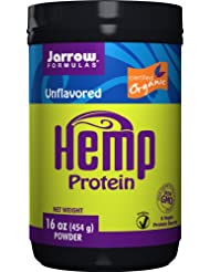 Jarrow Formulas Organic Hemp Protein Powder 16oz