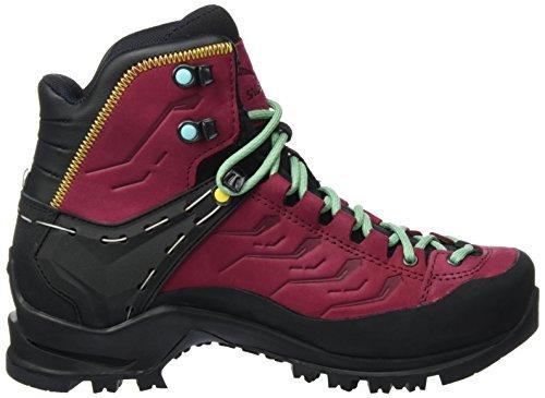 Salewa Damen Rapace Gore-Tex Bergschuh, Chaussures de Trekking et Randonnée Femme Rouge (Tawny Port/limelight 8874)