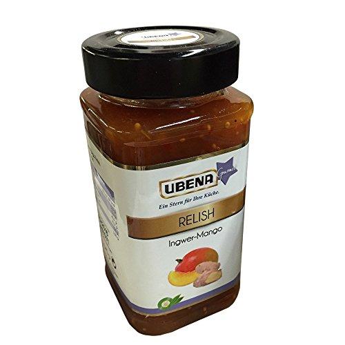 Ubena Relish Inger-Mango 345 g