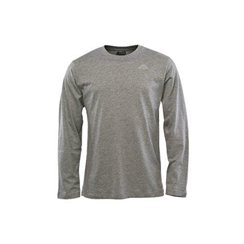 Kappa Herren Langarmshirt Caft Grau - Gris - Md grey mel