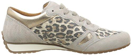 Gabor46-356-21 - Sneaker Donna Multicolore (Mehrfarbig (21 natur/muschel k.))
