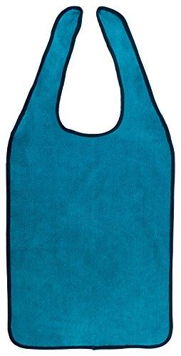 PremiumShop321 Floringo Lätzchen für Erwachsene/Pflege Lätzchen zum Binden Twin Star-Petrol