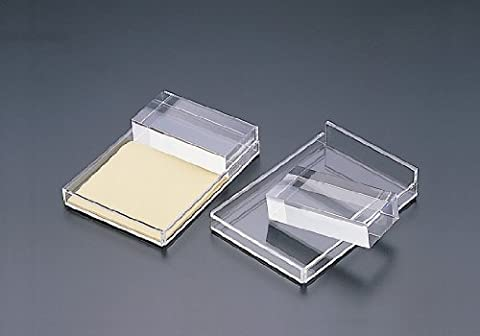 3 x 3 Note Pad Holder W/Removable Acrylic Block (acrylic) by Acrylichomedesign