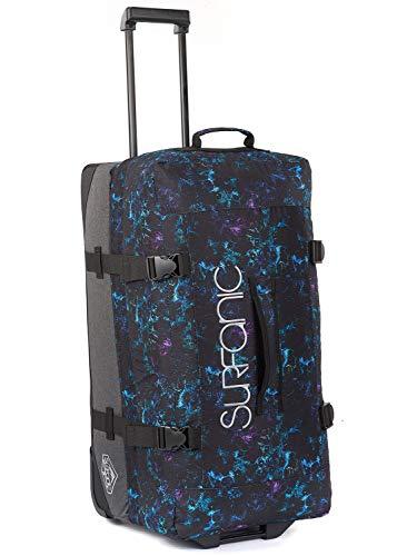 Surfanic Maxim Roller Laptop Rollkoffer, 73 cm, 100 liters, Blau (Floral Dash) - 100l Notebooks