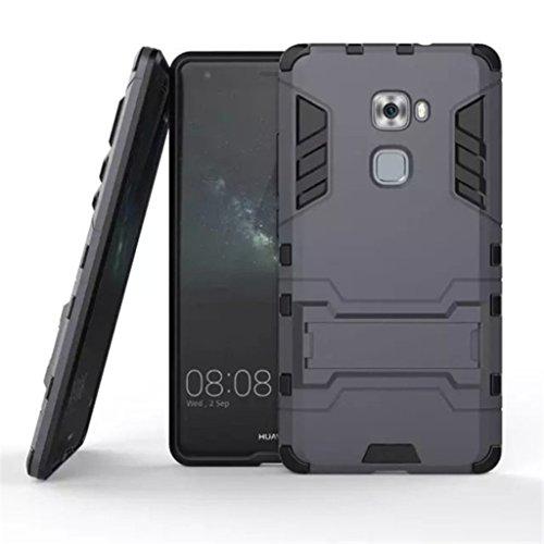 Apanphy Huawei Mate S Hülle , Dual Layer Kratzfeste Tasche Schutzhülle mit Ständer für Huawei Mate S case cover, Dunkel Blau