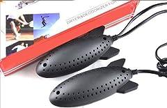 Idea Regalo - Essiccatore scarpe deodorante sterilizzatore deumidificatore scarpe elettrico MWS