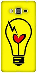 The Racoon Lean Heart Bulb hard plastic printed back case / cover for Samsung Galaxy Grand Prime