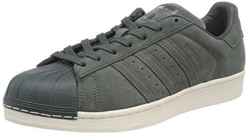 adidas Herren Superstar Sneaker, Verde Vernoc, 38 EU -