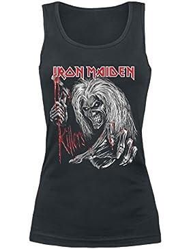 Iron Maiden Ed Kills Again Top Mujer Negro