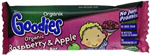 Organix Goodies From 12 Months Organic Raspberry and Apple Soft Oaty Bars 30 g (Pack of 15)