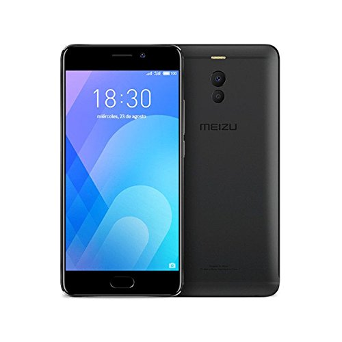 "Meizu M6 Note SIM doble 4G 64GB Negro - Smartphone (14 cm (5.5""), 64 GB, 12 MP, Android, 7.1.2 (Nougat), Negro)"
