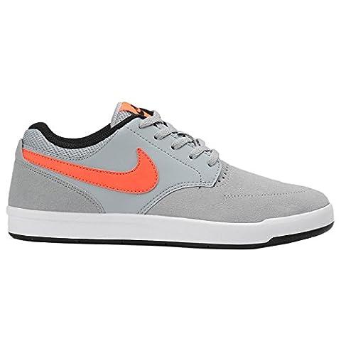 Nike, Chaussures de Tennis Garçon, Gris (Wolf Grey / Total