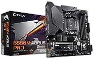 GIGABYTE B550M AORUS PRO (AM4 AMD/B550/Micro ATX/Dual M.2/SATA 6Gb/s/USB 3.2 Gen 2/PCIe 4.0/HDMI/DVI/DDR4/Moth