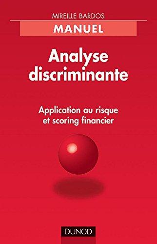 Analyse discriminante Application au ris...