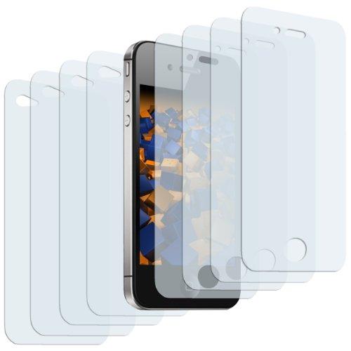 mumbi Schutzfolie kompatibel mit Apple iPhone 4