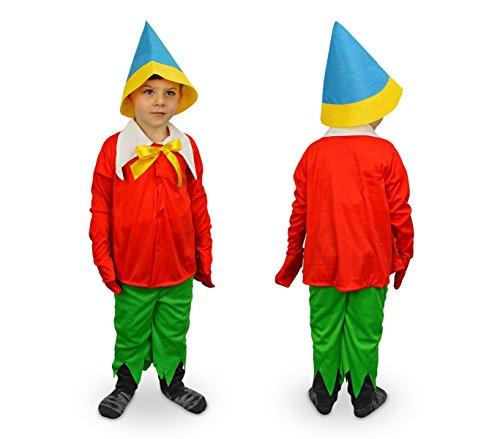 619564 Disfraz de carnaval motivo PINOCHO (3 a 12 años) (9-12 años)