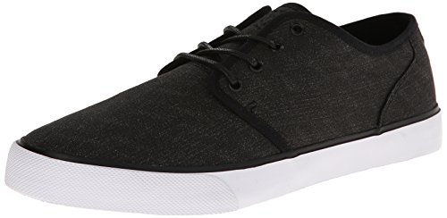 DC STUDIO TX M SHOE BKN, Low-top homme - Noir - Noir/blanc, 44