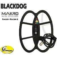 Hispania Technologies Plato Black Dog para Detector de Metales Makro Racer y Racer 2