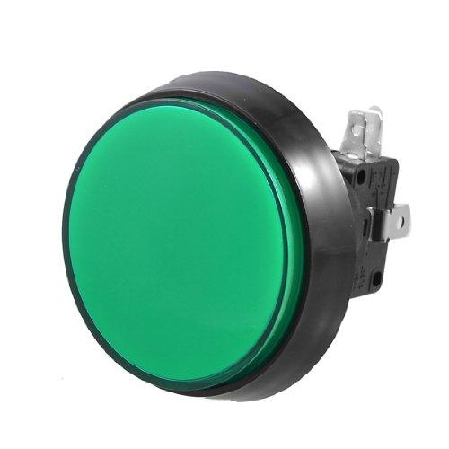 Sourcingmap a12070600ux0199 - Arcade verde gioco 52 millimetri illuminato momentaneo