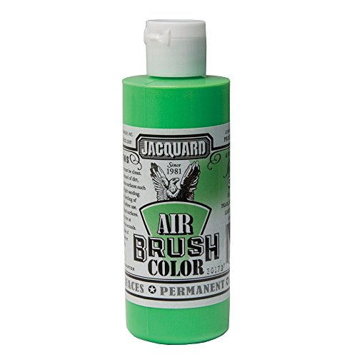 Jacquard Airbrush Color 4Oz Iridescent Green by Jacquard