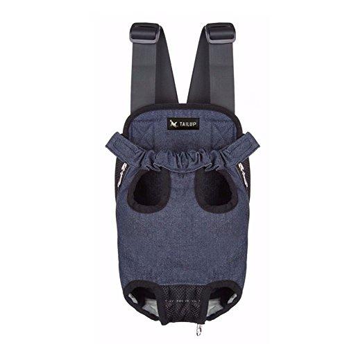Tragetasche Kleine Hund Welpen Frei Atmen Umhänge Hunderucksack Transporttasche vorne Bauch Rucksack 8 Farbe Maße auswählbar von Treat Me