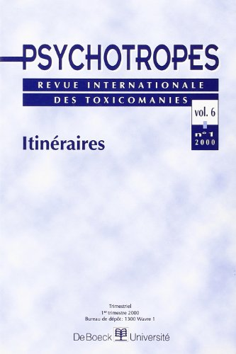 Les psychotropes, janvier 2000 par Pierre Angel