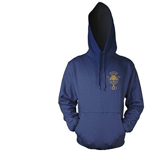 Plastichead Herren Sweatshirt Neck Deep Sink Or Swim Hsw Blau - Blau