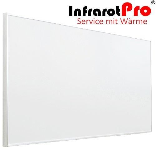 Infrarotheizung 1200W von InfrarotPro® 115x100 Made in Germany 7 Jahre Garantie (1200WEISS)