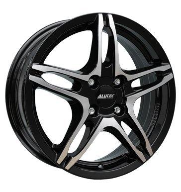 Preisvergleich Produktbild Alutec Poison 6x16 ET40 4x100 diamant-schwarz frontpoliert
