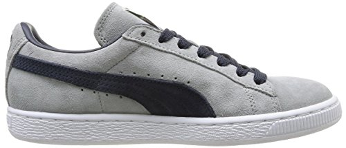 Puma Suede Classic+ , Baskets Basses Mixte Adulte Gris (Limestone/Navy/White/Gold)