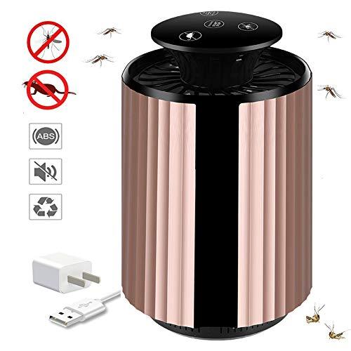 NAFE Mückenlampe,USB wiederaufladbare Fliegenklatsche Elektrische Fliegenklatsche und Moskito für den Außenbereich