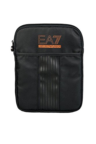 Emporio Armani EA7 borsa uomo a tracolla borsello in nylon evolution pouch nero