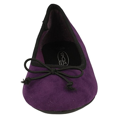 Spot On , Ballerines pour fille Violet - violet