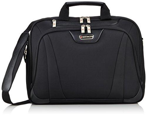 Deluxe Leder-notebook (Wenger RV Businesstasche mit Laptopfach 17 Zoll Deluxe, schwarz, 17 liters, W72992217)