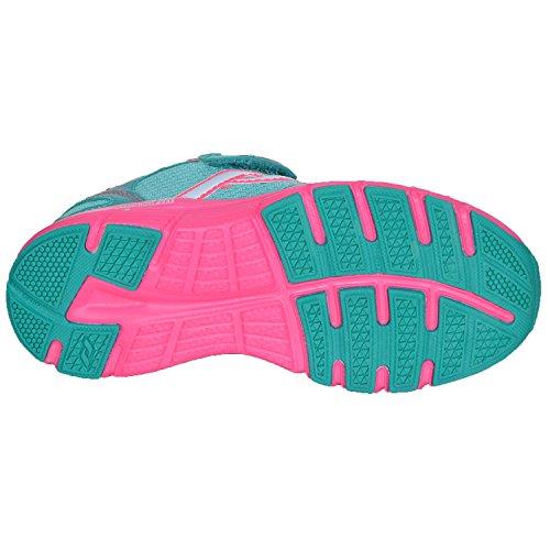 Pro Touch Run-Schuh Oz Pro V Klett Jr - grün aqua/pink Blau