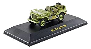 Greenlight Collectibles - 86307 - Jeep - C7 Army - 1944 - Escala 1/43 - Verde