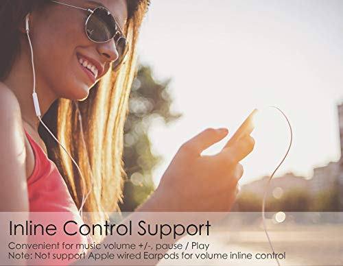Aux USB C Adapter, Kolpop USB C auf Klinke Typ C auf 3.5 mm Jack Kopfhörer Adapter mit DAC Chipset für iPad Pro 2018, Google Pixel 3/2 XL, HTC U11/U12+,Huawei P20 Pro/Mate 20 Pro,Moto Z,Xiaomi&Mac Pro - 6