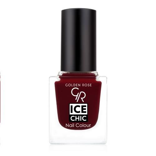Golden Rose ? Nagellack Ice Chic, 43 Frozen Cerise, kirschrot