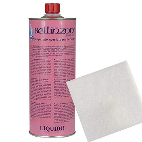 Set Bellinzoni Preparato Spezial Farblos mit Fasertuch