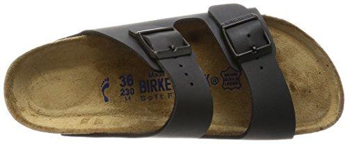 Birkenstock Arizona 252693, Mules Homme Noir (Basic Schwarz)