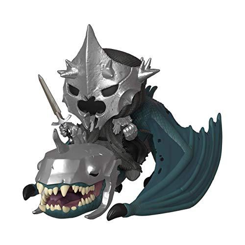 Funko 39894 Pop! Rides: El Señor de los Anillos S5: Bruja Rey con Fel