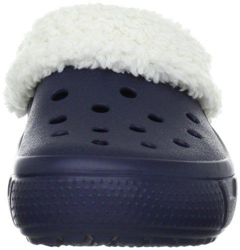 Crocs Mammoth Full Collar Sabot U Unisex - Erwachsene Clogs & Pantoletten CR.12878 Blau (Navy/Oatmeal)