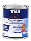 TITAN - Patente autopulimentable lixiviante mate azul intenso 750ml