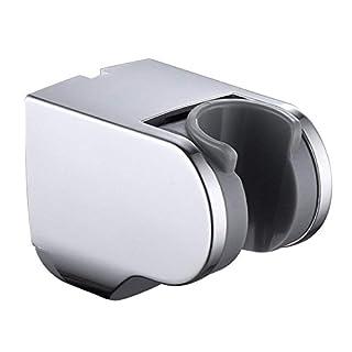 Couradric Adjustable Shower Holder Fixed Mounted Wall Bracket for Handheld Shower Head,Chrome Finish