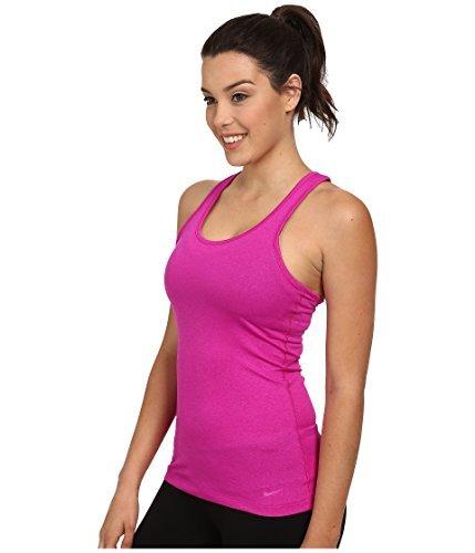NIKE W NK Dry Damen ärmellos Tank Balance Top, Rosa (Vivid Pink), XS (Womens Top Nike)