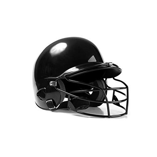Seasaleshop Baseball Helm Hit Helm binauralen Baseball Helm Tragen Maske Schild Kopf Beschützer Gesicht Softball