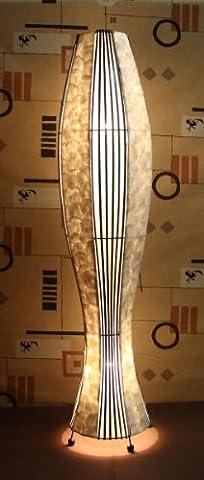 Asiatische Stehleuchten Udon Shell L (LA22-06/FS/L), Stehlampen, Designer Stimmungsleuchten, Bali
