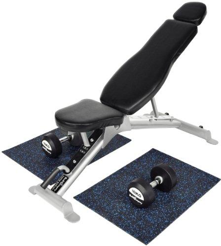 Professioneller Bodenschutz / Bodenmatte / Trainingsmatte Bodenschutz / Bodenmatte in Studio-Qualität (Paar)