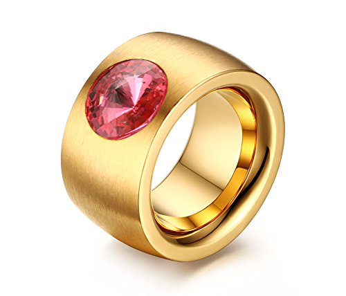 vnox-mens-womens-stainless-steel-pink-cz-diamond-inlay-band-solitaire-wedding-engagement-ring-gold-u