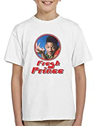 Fresh Prince Of Bel Will Smith Retro Photo Frame Kid's T-Shirt